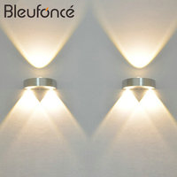 HOT Indoor LED Wall Lamp Aluminum Sconce KTV Bar Corridor Decorate Background Wall Light NB310