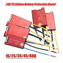 16V 25A 35A 45A 60A 7S 18650 Li ion Lipolymer Battery BMS PCB PCM Battery Protection