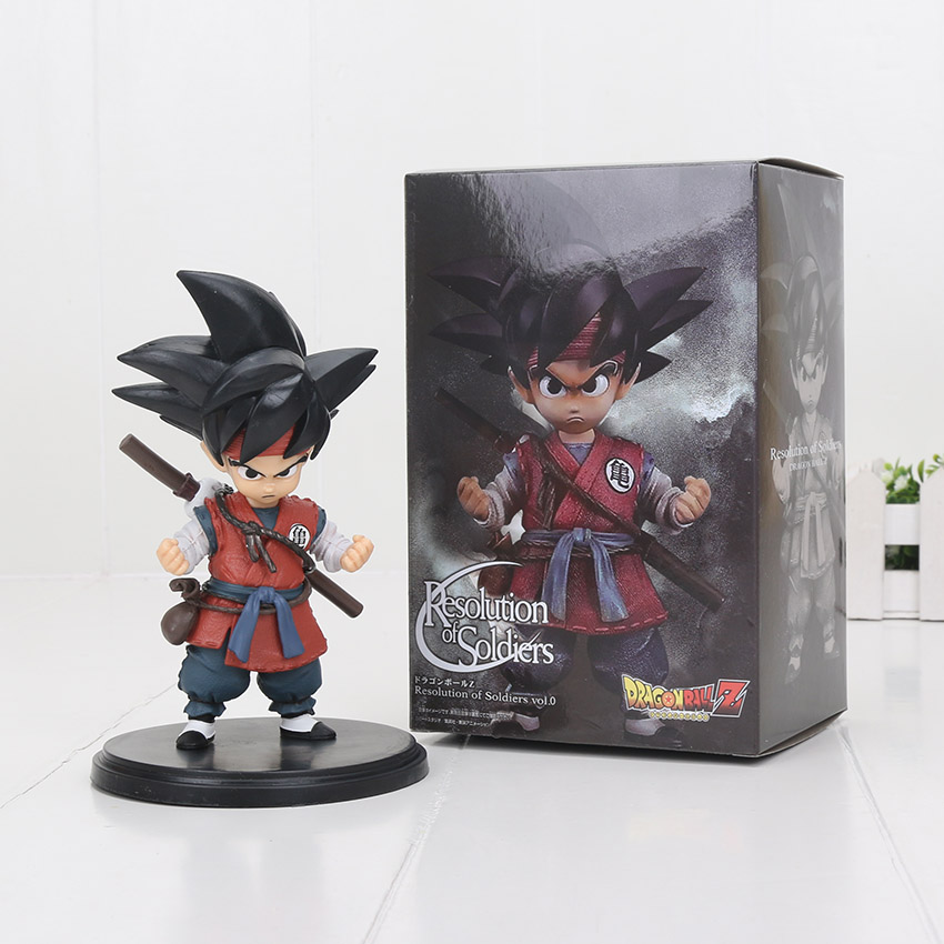 NEW 15CM Dragon Ball Z kid goku cute vision PVC Action Figure Toy Dragon Ball figure my friend fear