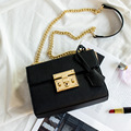 free shipping new fashion brand women's single shoulder bag feminina messenger bag with luxury chain belt 100% in-kind shooting