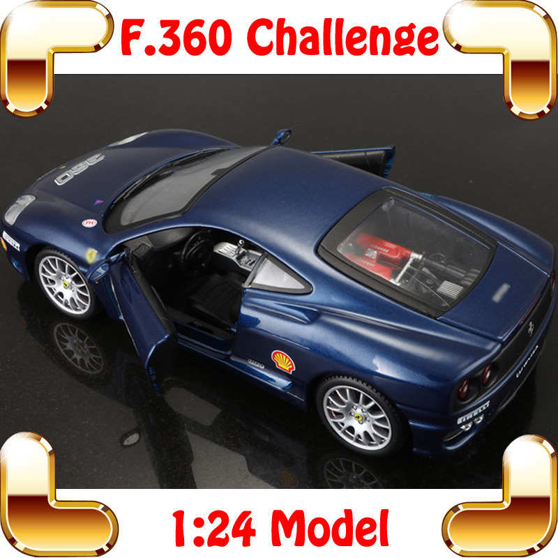 New Coming Gift 360 Challenge 1/24 Metal Model Car Collection Diecast Window Showcase Static Toys Car Vehicle Sports Alloy Scale maisto jeep wrangler rubicon fire engine 1 18 scale alloy model metal diecast car toys high quality collection kids toys gift