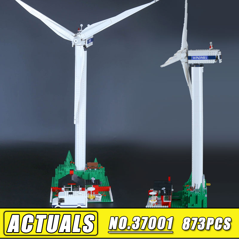 Bei Fen 873pcs Lepin 37001 Creative Series the Vestas Windmill Turbine Set Children Model Building Blocks Bricks Toy 4999 lepin 37001 creative series the vestas windmill turbine set children educational building blocks bricks toys model for gift 4999