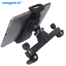 цена на New 360 Degree Universal Car Back Seat Headrest Tablet Mount Holder for IPad 4 Mini 3 Air 2 for Samsung Tablet S6 8 Holder Stand