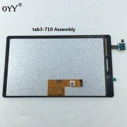 Panel wyświetlacza lcd monitora z ekranem dotykowym moduł digitizera ekranu dla Lenovo Tab 3 710 niezbędnych Tab3 TB3-710F TB3-710L TB3-710I