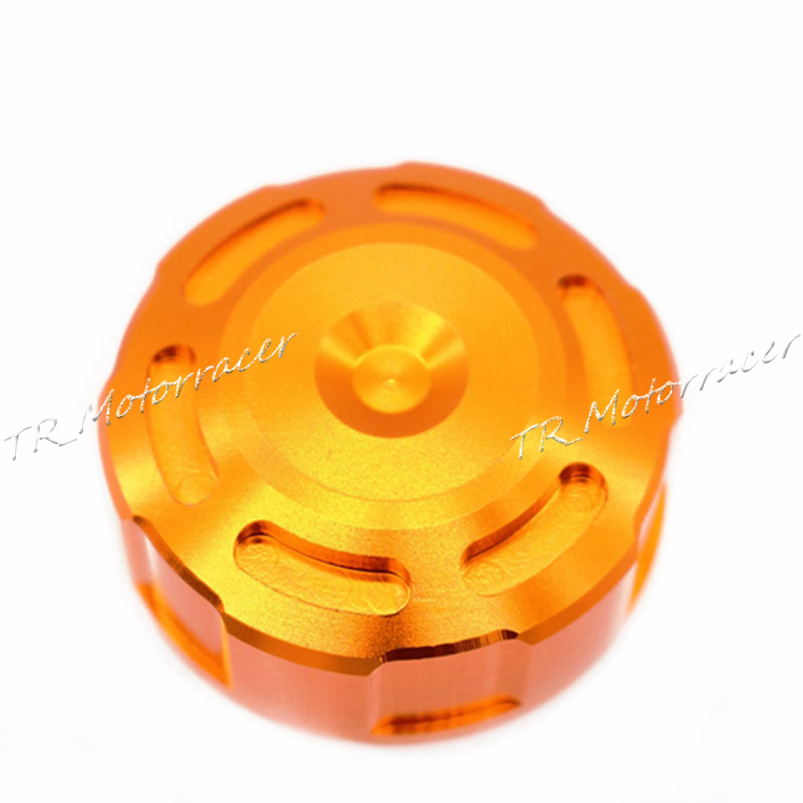 Motorcycle Accessories Aluminum Fuel Tank Cap For Yamaha YZF R1 R6 Honda CBR1000RR Kawasaki ZX6R Z1000 Orange