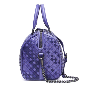 Image 2 - 2020 Brand Genuine Leather Bag Women Handbag Knitting Large Capacity Ladies Shoulder Crossbody Bags Casual Tote Bolsa Feminina
