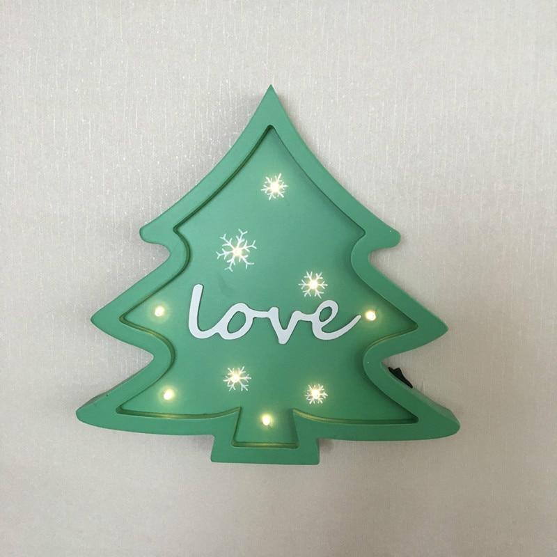 Julgran modellering ljus jul dekoration ljus som gåva hem baby rum - Festlig belysning - Foto 5