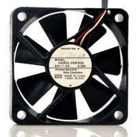 New original 6015 24V 0.08A 6cm 3-wire double ball frequency converter fan 2406GL-05W-B39