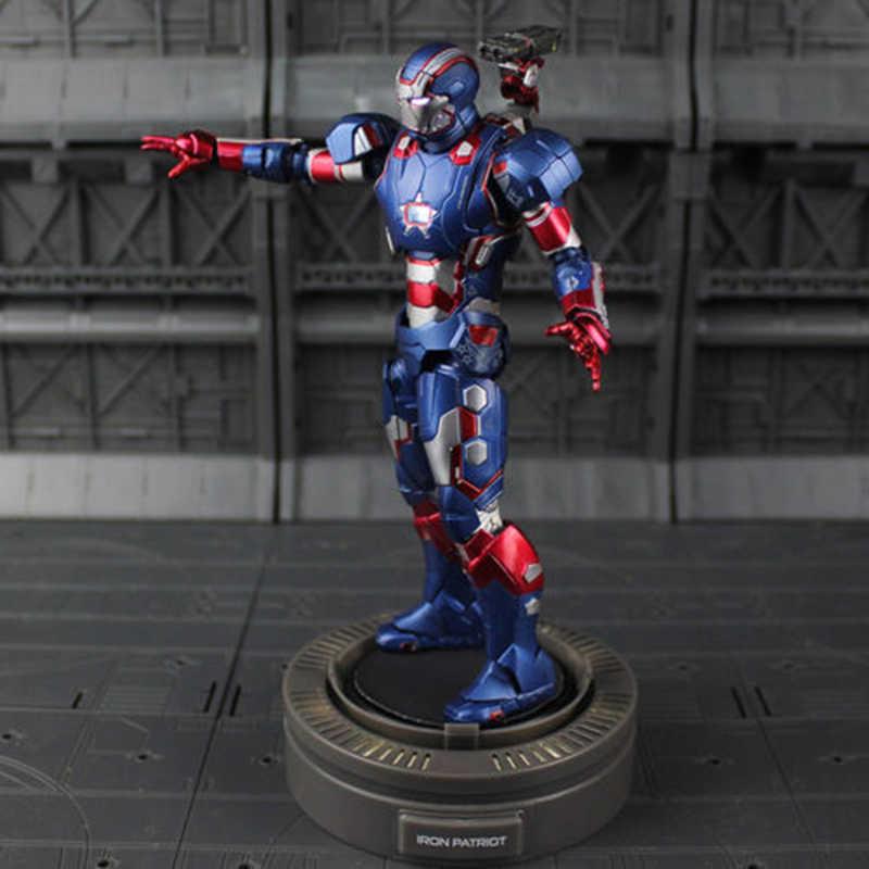 Для коллекции 1:12 Diecast Play imaginactive супер сплав Железный человек 3 сталь Патриот фигурка модель игрушки для детей подарок для детей