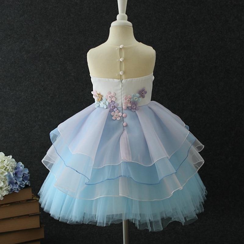 HTB13sLGeborBKNjSZFjq6A SpXaa New Girls Dress 3Pcs Kids Dresses For Girl Unicorn Party Dress Christmas Carnival Costume Child Princess Dress 3 5 6 8 9 10 Year
