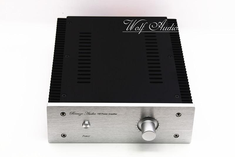 BZ2107B All Aluminum Power Amplifier Chassis HIFI Mini Amp Case Pre Amp Enclosure DIY Audio Housing