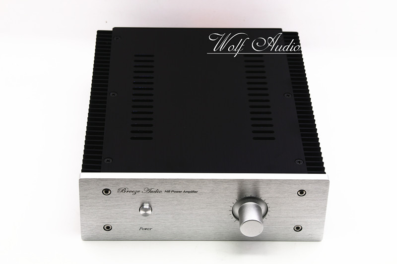 jc229i all aluminum pass chassis power amplifier housing audio amp case preamp enclosure diy pass box BZ2107B All Aluminum Power Amplifier Chassis HIFI Mini Amp Case Pre-Amp Enclosure DIY Audio Housing Box