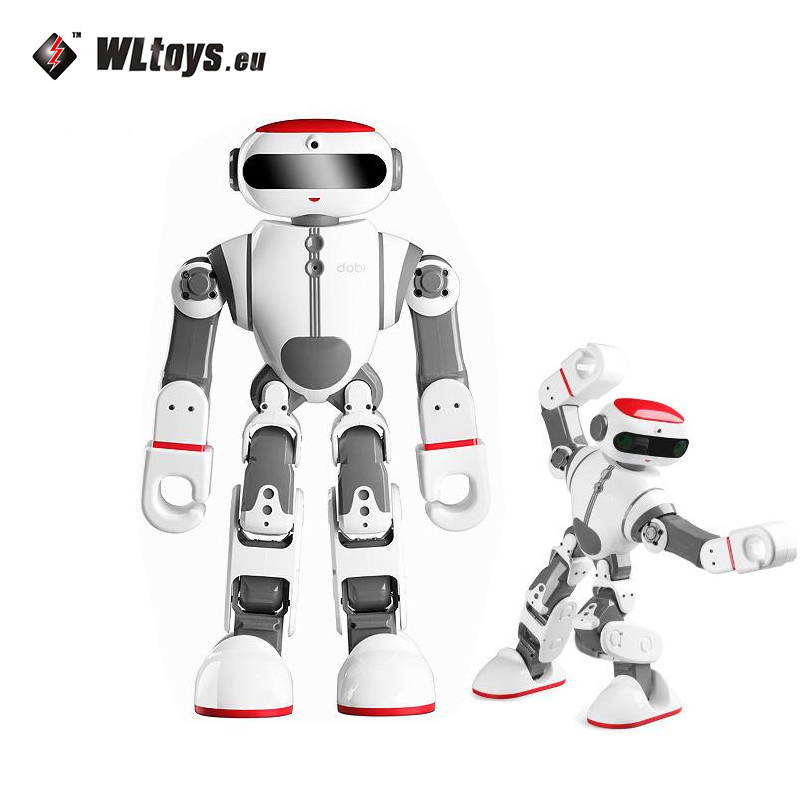 Good Wltoys F8 Dobi Intelligent Humanoid Voice Control Multifunction RC DIY Robot For RC Toys Children Gifts free shipping dali dimmer