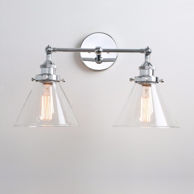 Retro Double Bedroom Wall Lamp