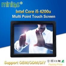 Minisys 15 Inch Smart Capacitive Touch Screen Computer Intel I5 4200u Dual Core