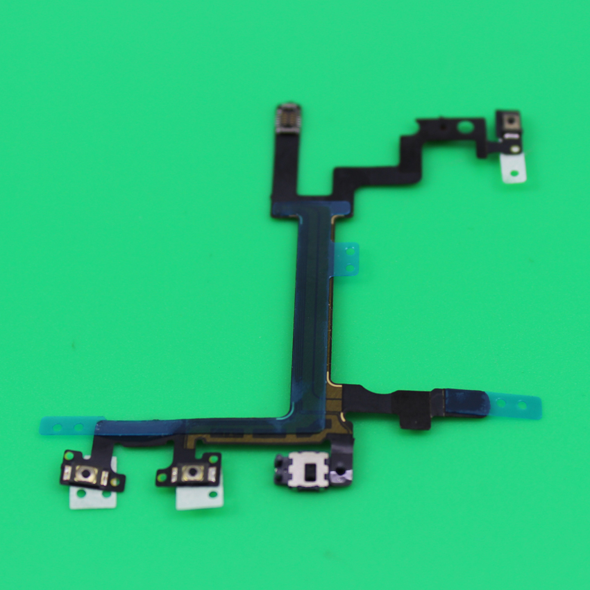 YuXi Tested Power Button Switch On/Off Flex Cable Replacement Part Case for iPhone 5 5G
