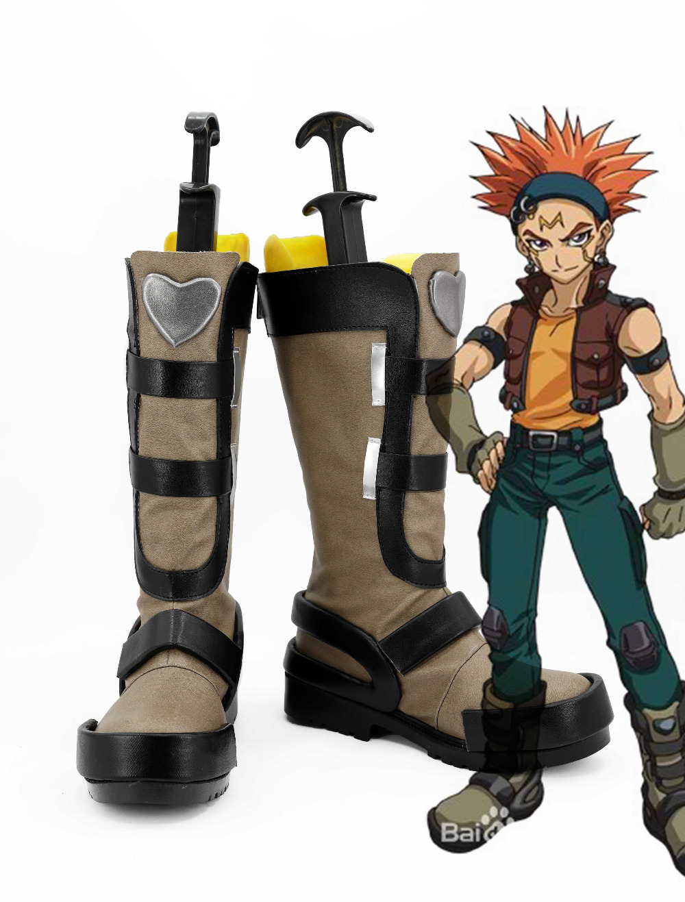 Anime Duel Monsters ARC-V Crow High Quality Boots Shoes Original Boots Custom Made For Adult Men Women