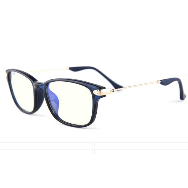 Anti Blue Ray Computer Glasses Gaming Glasses TR90 Spectacle Frame For Men/Women Square Plastic Titanium Frame Eyewear snK305