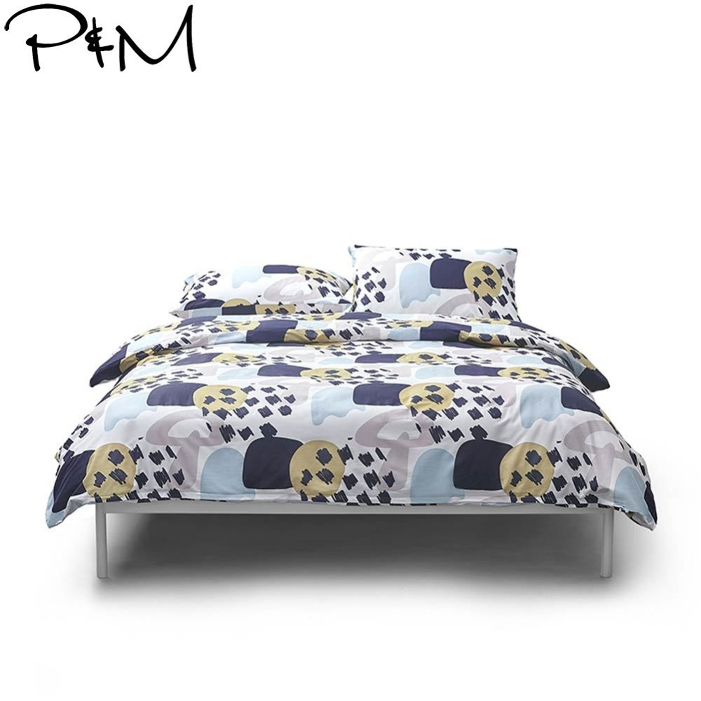 2019 Papa&Mima Checkered Geometric Bedlinens Duvet Cover 3/4 pcs Twin Queen King Bedsheet Soft Cotton Bedding Set Pillowcases2019 Papa&Mima Checkered Geometric Bedlinens Duvet Cover 3/4 pcs Twin Queen King Bedsheet Soft Cotton Bedding Set Pillowcases