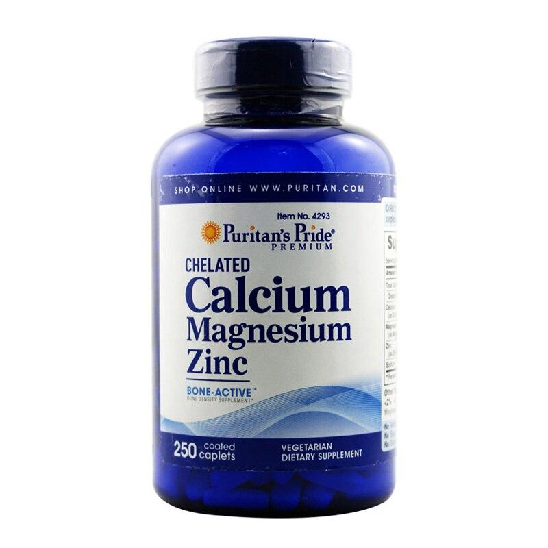 все цены на Free Shipping Calcium Magnesium Zinc 250 pcs