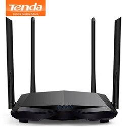 Tenda nuevo AC6 2,4G/5,0 GHz inteligente doble banda AC1200 inalámbrico WiFi Router repetidor Wi-Fi, administración remota de la aplicación, interfaz en inglés