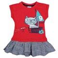 Кошка случайные летние платья для малышей, детская одежда, детская девушки туту одежда, ребенок день рождения, крошечные хлопки vetement enfant fille