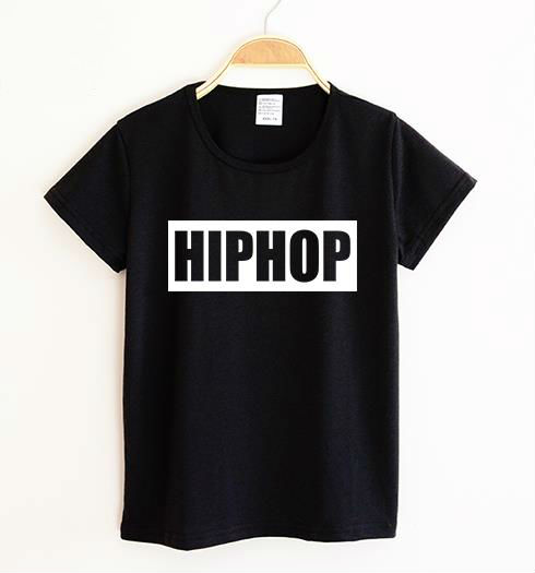 Hiphop print Kids tshirt Boy Girl t shirt For Children Toddler Clothes Funny Tumblr Top Tees Drop Ship CZ-27 image