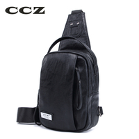 CCZ 2017 New Fashion Man Shoulder Bag Men Crossbody Bag PU Leather Messenger Bags Mens Chest