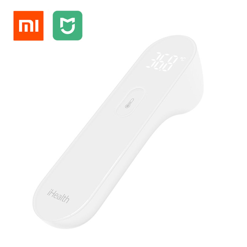 Original Xiaomi Mi Home Mijia iHealth Thermometer Accurate Digital Fever Infrared Clinical Non Contact Measurement LED Shown