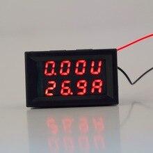 По всему миру 1 шт. DC 0-30 В 10A Вольтметр Амперметр Красный СВЕТОДИОД Панель Amp Цифровой Вольт Калибр