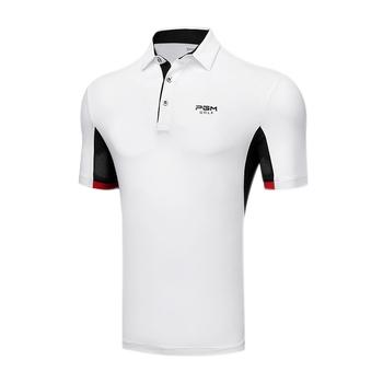 2020 męska koszulka golfowa z krótkim rękawem oddychająca odzież golfowa mężczyźni odzież sportowa sportowa torba na sprzęt do golfa skręcić w dół kołnierz odzież sportowa Quick Dry tanie i dobre opinie Poliester spandex Pasuje prawda na wymiar weź swój normalny rozmiar Przeciwzmarszczkowy Szybkie suche WB0219 Koszule