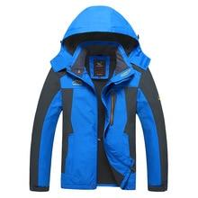 2016 мужчины куртку Вниз Парки мужчина тепловой пальто для мужчин туризм куртки верхняя одежда Водонепроницаемый Ветрозащитный Chaqueta L-8XL