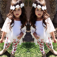 2016 Baby Girl Clothes Summer Children Gril Brand Clothing Sets Cotton Long Sleeve 3Pcs Baby Girl