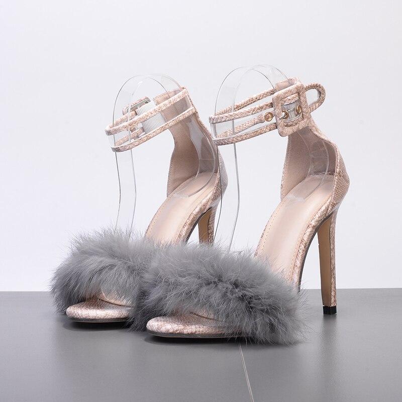 Zapatos Calzado Tobillo Cm 11 Altos Correa Mujeres Fiesta Mujer Noche black Plataforma Delgados Boda Serpentine Sandalias De Gladiador Piel Tacones Sexy xwYwZB
