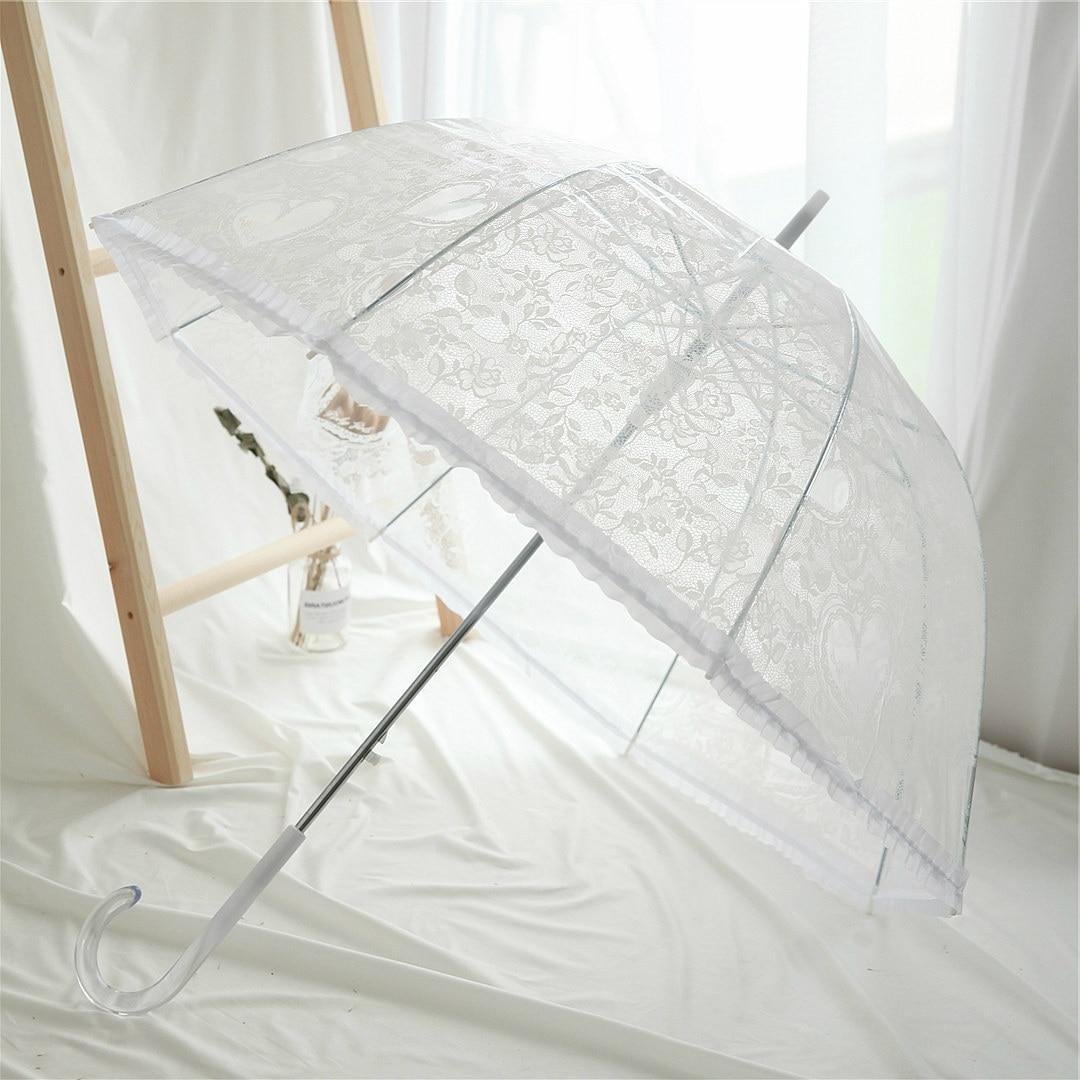 Kseniya Queen Lace Print Umbrella Wedding Umbrellas Parasol White Lace Umbrellas Kids Bridal Shower Umbrella