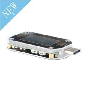 Image 3 - TC66 TC66C نوع C اللون LCD شاشة USB الفولتميتر مقياس التيار الكهربائي الجهد الحالي متر المتر بطارية PD سريع تهمة الطاقة USB Teste