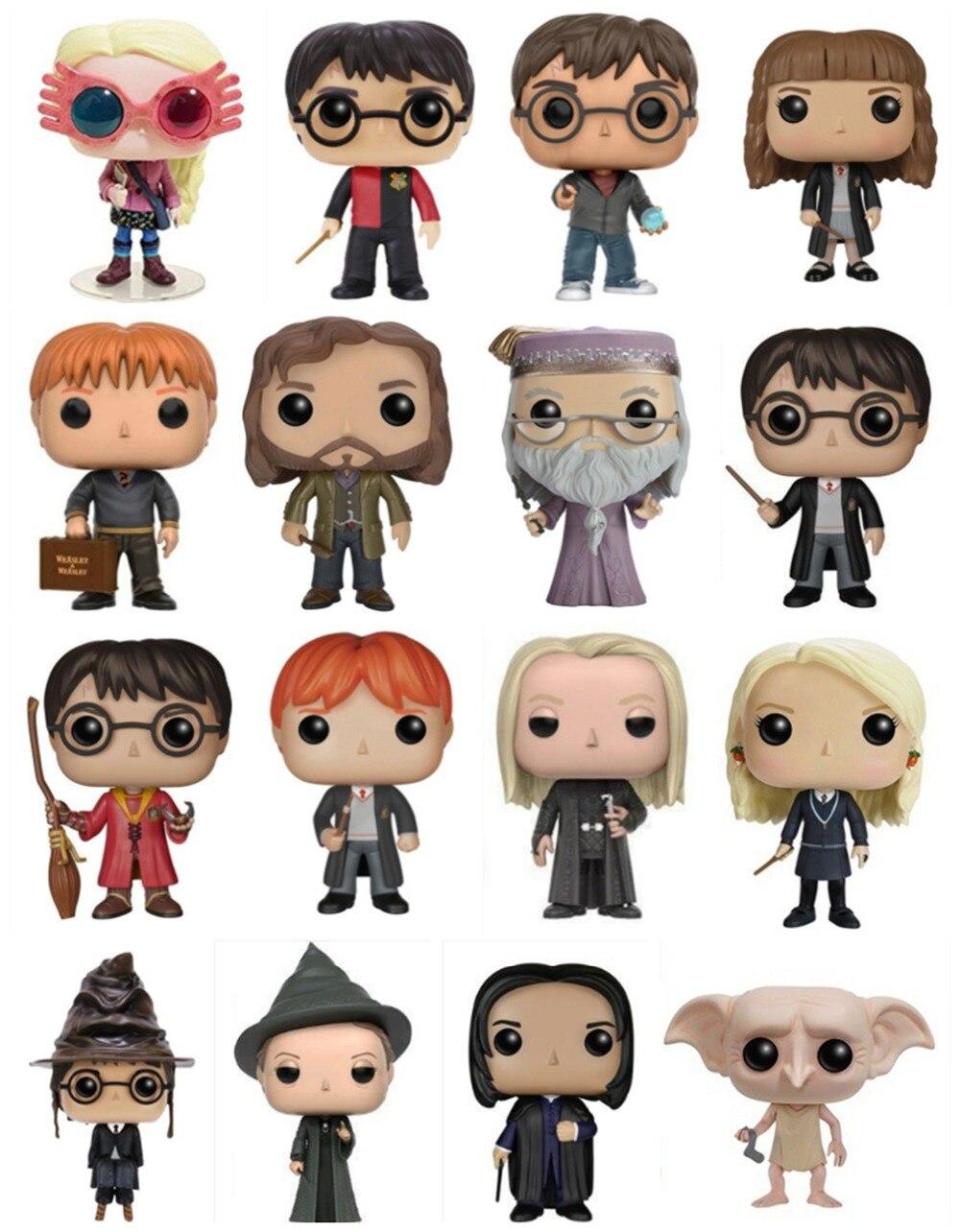 Funko pop Offizielle Potter Snape Rubeus Luna Dobby DUMBLEDORE RON WEASLEY Action Figur Figur Pop Sammeln Modell Spielzeug