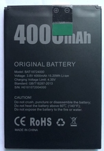 цена на 100% Original New Doogee X70 Battery 4000mAh Polymer Li-ion 3.8V Batteries For Doogee X70 Phone BAT18724000