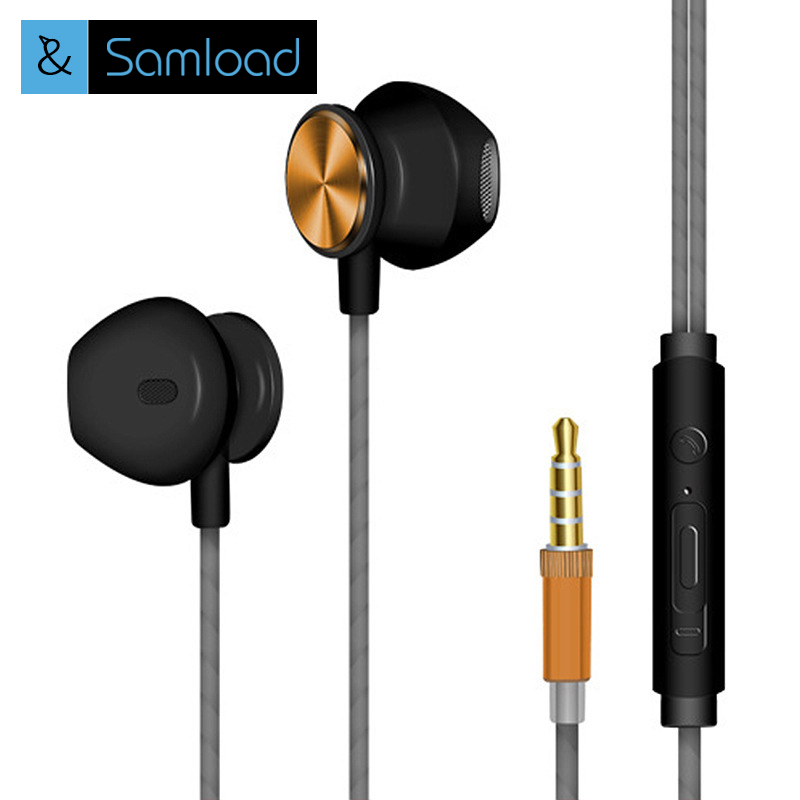 3.5mm In-ear Earphone Headphone Universal Earbuds Super Bass With Mic Auriculares Stereo Headset for Mobile phone MP3 PC