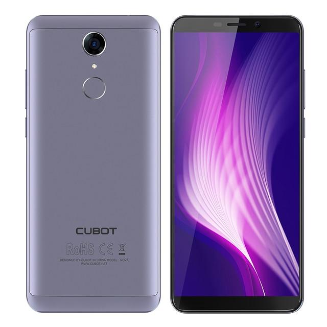 "Refurbished CUBOT Nova Android 8.1 Smartphone 4G 5.5"" MTK6739 Quad Core 3GB RAM 16GB ROM 8.0MP+13.0MP Camera Mobile Cellphones 1"