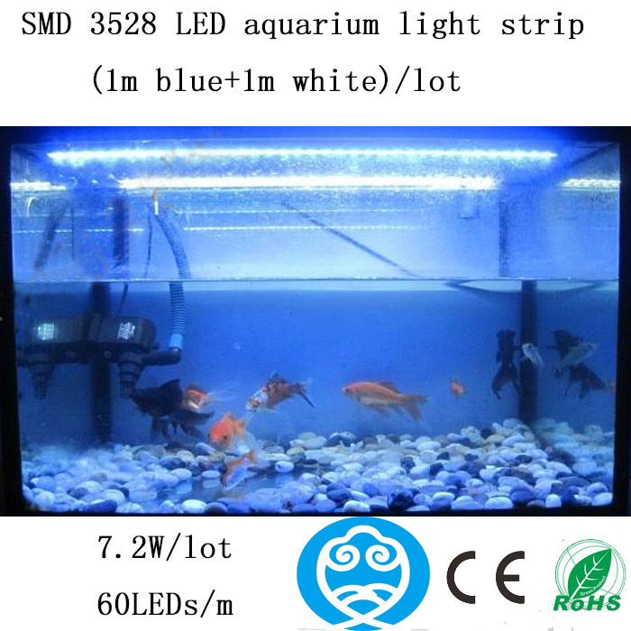 1m blue1m whitelot smd 3528 led aquarium light stripdecorate the 1m blue1m whitelot smd 3528 led aquarium light stripdecorate the fish tank and provide illumination to plants in led grow lights from lights lighting aloadofball Image collections