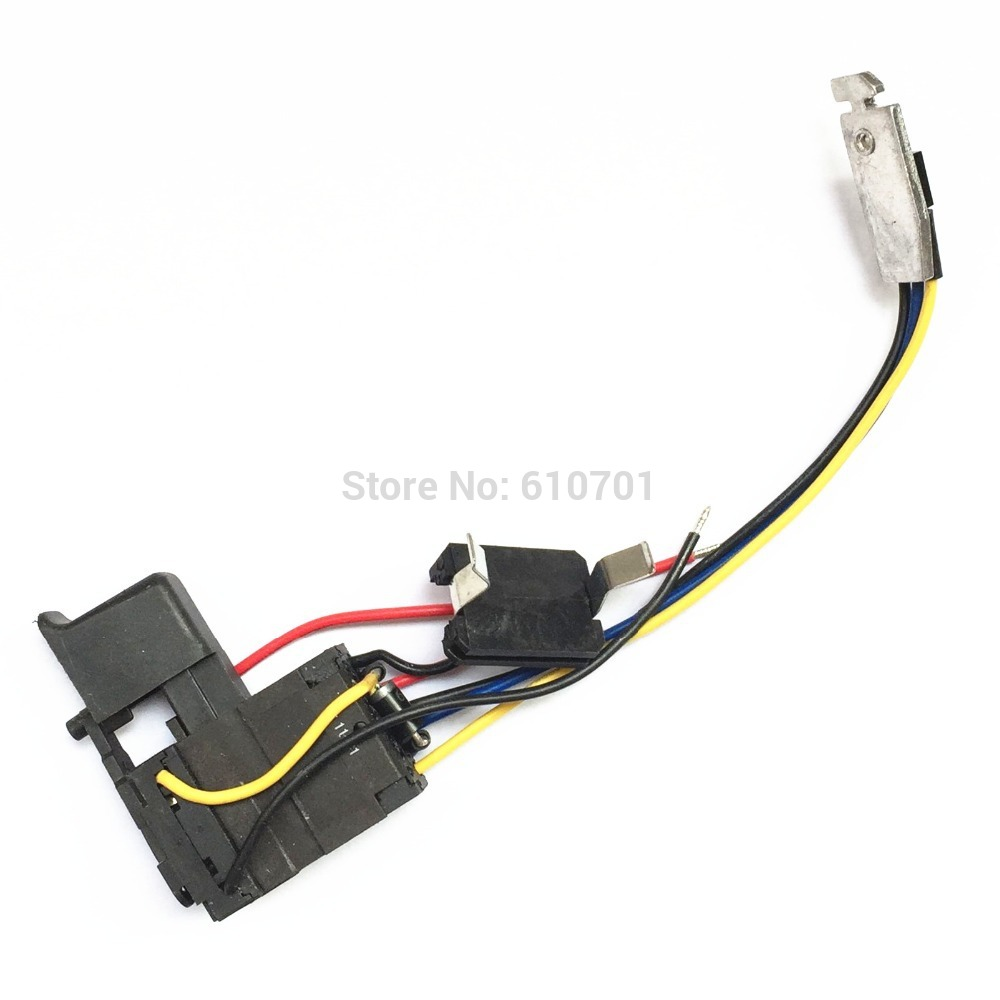 DC 7.2V-24V 12A Cordless Drill Trigger Switch Replacement Speed Controller Regulate