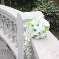 Романтический Пляж Искусственный Цветок Свадебные Букеты Для Невест Невесты Руки с Цветами в Руках Свадебный Букет