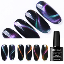 UR SUGAR Chameleon 3D Cat Eye Nail Gel Magnetic UV Magnet Stick Effect 7.5ml Soak Off Art Lacquer Manciure DIY