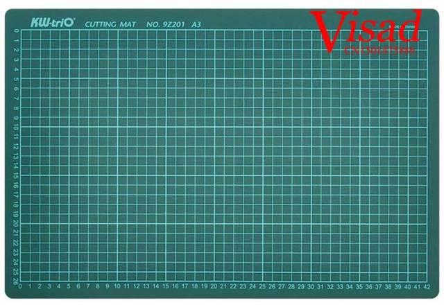 Pvc cutting mat a2 Craft Dark Green Patchwork tools a2 cutting ... : quilting cutting boards - Adamdwight.com