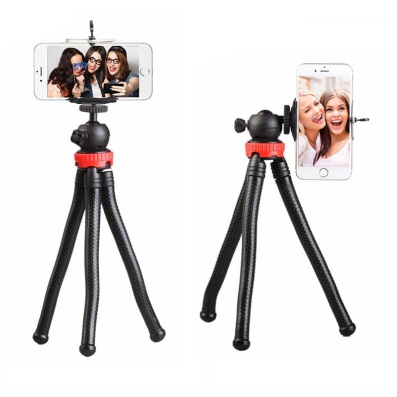 Trípode móvil del pulpo flexible con el soporte portátil Soporte - Cámara y foto
