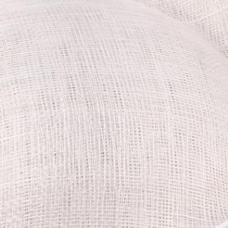Шляпки из соломки синамей с вуалеткой перья, модные аксессуары для волос популярный свадебный Шляпы очень хороший Новое поступление несколько цветов - Цвет: Белый