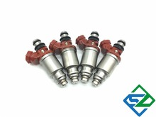 4 pcs Fuel Injector Para Toyota AE102 Corolla Celica AT200 4Cyl 1.8L Motor 7AFE OEM: 23250-16160 23209-16160 2325016160