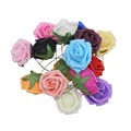 20 шт., искусственные розы из пенополиэтилена, 5 см