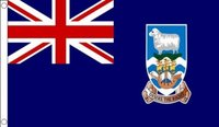 90 x 150cm 100% polyester 3ft*5ft Falkland Islands Flag|Flags  Banners & Accessories|Home & Garden -